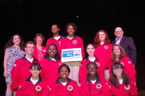 Robert H. (Bob) Brown, President and CEO of Heart of Florida United Way (pictured at top right), joined the United Way-sponsored  AmeriCorps members  who attended the 2013 City Year Orlando Opening Day celebration.